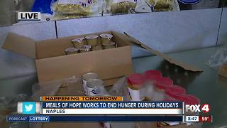 Meals of Hope works to end hunger for the holidays - 8:30am live report - Video