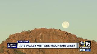 Are Valley hotels educating tourists about hiking dangers? - Video