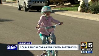 Couple finds love and family with foster kids