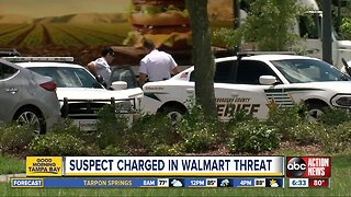 Walmart worker's son arrested for threatening to shoot up store