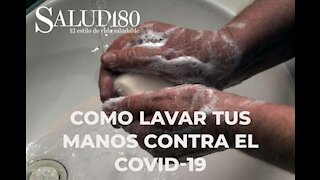 How to wash your hands to protect yourself from Covid-19? Health180