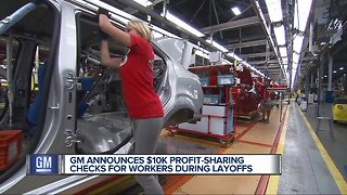 Why are GM workers getting profit sharing checks?