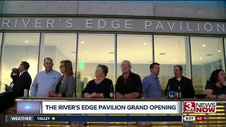 River's Edge Pavilion open - Video