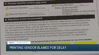 Some Lorain County residents still haven't received their absentee ballots