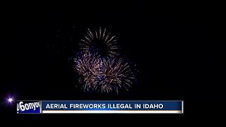 Police busy with reports of illegal fireworks