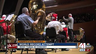 KC Symphony to attempt world record for most tubas in concert at once