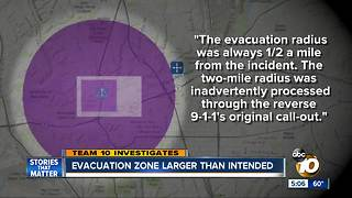 Mission Valley gas leak evacuation zone larger than intended