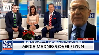 Alan Dershowitz Says Flynn Indictment Proves Trump Was Right All Along