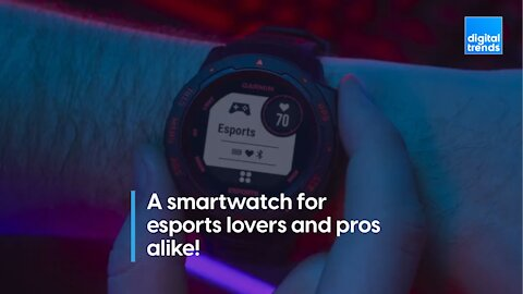If you love Esports, check out this smartwatch!