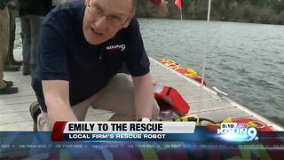 A Sahuarita firm's water rescue robot - Video