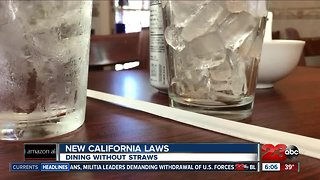New years, new laws: dining without straws