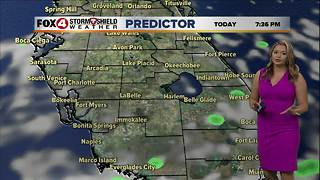 Mostly Dry Wednesday with Plenty of Sun - Video