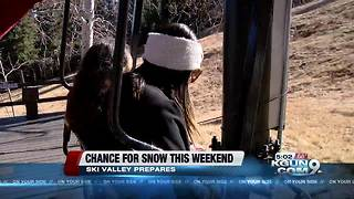 Mount Lemmon Ski Valley prepares for snow - Video