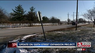 Update on 120th St expansion project