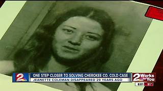 Cold Case one step closer to being solved - Video