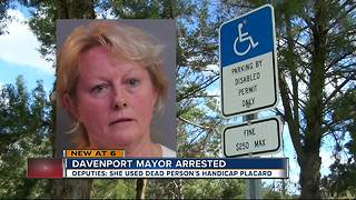 Local mayor alters handicapped permits to park - Video