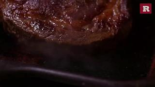 How to cook a frozen steak | Rare Life - Video