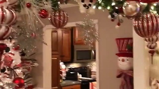 Extreme Christmas Decorating House Tour Has Over 45 Million Views - Video