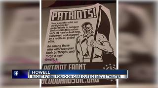 White supremacist flyers found in Howell parking lot, mayor 'rejects intolerance'