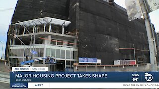 Major housing project takes shape