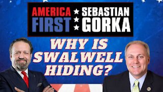 Why is Swalwell hiding? Rep. Steve Scalise with Sebastian Gorka on AMERICA First