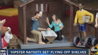 Hipster Nativity display on sale? - Video