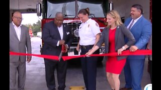 Ribbon cutting on new West Palm Beach fire station