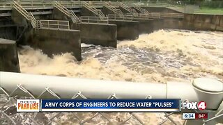Army Corps of Engineers will reduce water pulses from