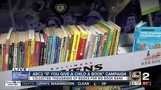 Thousands of books collected for ABC2's