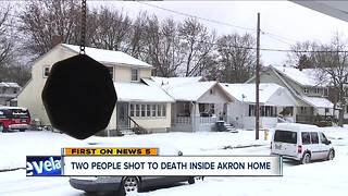 Akron police investigating double homicide on Merton Avenue, no suspects in case