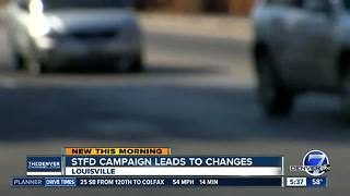 Louisville makes road changes to improve safety - Video