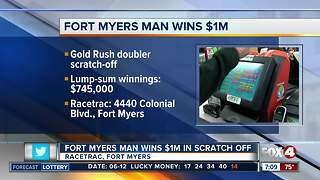 Fort Myers man wins $1 million on Florida Lottery scratch-off ticket - Video