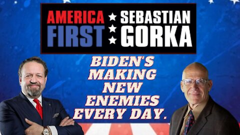 Biden's making new enemies every day. Victor Davis Hanson with Sebastian Gorka on AMERICA First