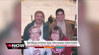 Detroit Red Wings to honor longtime season ticket holder - Video