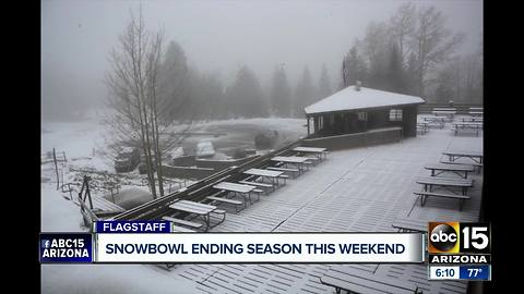 Snowbowl closing for the summer after this weekend