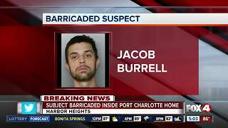 Suspect barricades himself inside Punta Gorda home - Video