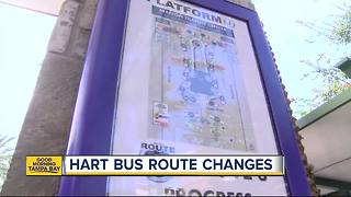 Major schedule shake-up begins for HART bus routes - Video