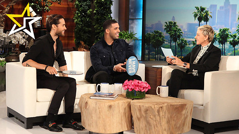 Drake And Jared Leto Play 'Never Have I Ever' On The Ellen DeGeneres Show