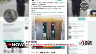 Local police departments seeking applicants - Video