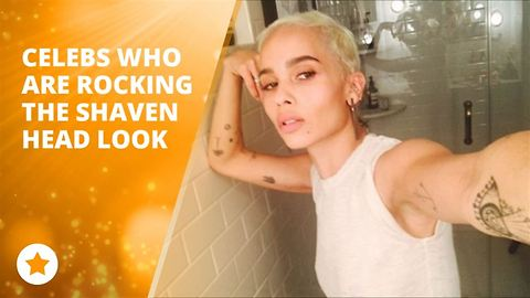 Celebs who are rocking the shaven hair look