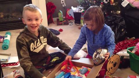 Brother & Sister Receive the Best News Ever