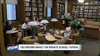 Catholic Schools like provision in tax reform plan - Video