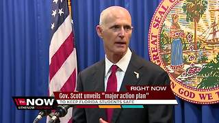Governor Scott reveals school safety plan - Video