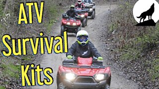 ATV Survival Kit. Simple Items To Save Your Life.