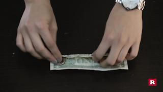 Dazzle Everyone By Balancing A Bill On The Tip Of Your Finger - Video