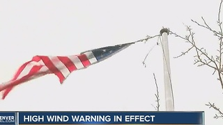 Windy conditions prompt warnings as damage racks up - Video