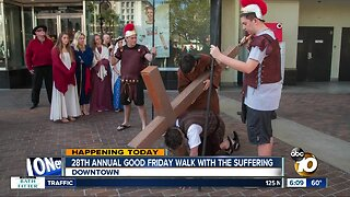 Good Friday walk to be held in downtown San Diego