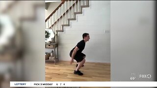 Fitness tips at home during COVID-19 lockdown