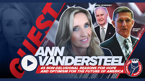 Ann Vandersteel | 45 Non Delusional Reasons for Hope and Optimism