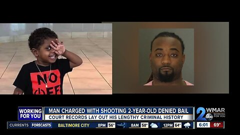 Bail denied to man charged with shooting 2-year-old